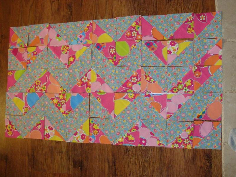 Quilt Zic Zac- trójkąty