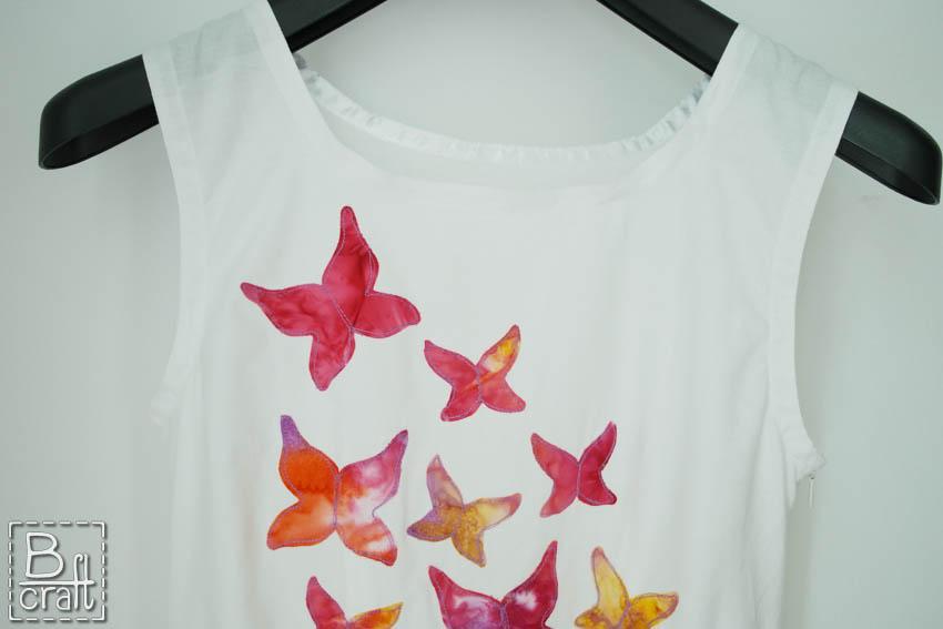 Sukienka z motylami